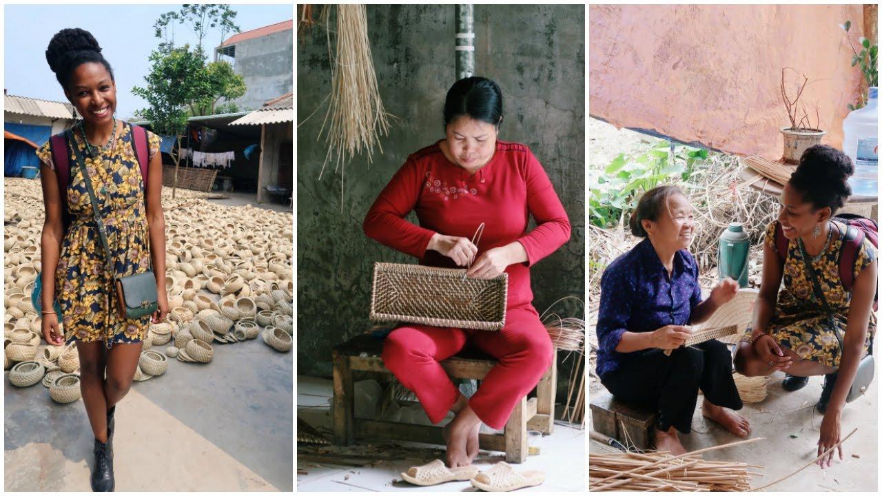 Travel Vietnam | Basket Weaving Village | charlycheer