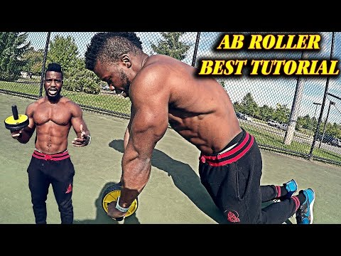 THE AB ROLLER TUTORIAL YOU NEED |  ONLY WAY TO USE IT