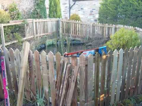 Child Proof Fencing Around Existing Pond Youtube