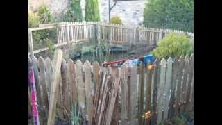 Child Proof Fencing Around Existing Pond