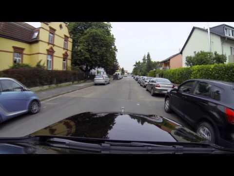 Mercedes S-Class Intelligent Drive footage - Autonomous driving