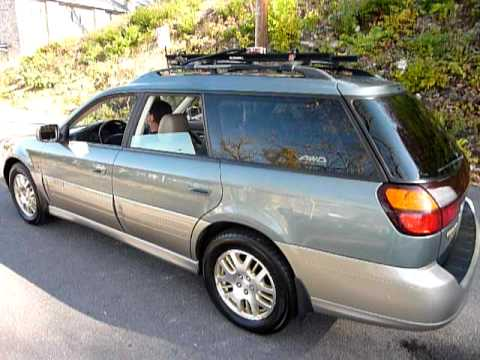 2002 subaru legacy wagon outback h6 l l bean edition. Black Bedroom Furniture Sets. Home Design Ideas