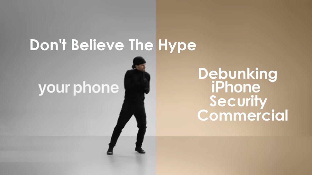 apple iphone commercial debunking iphone security apple 10114