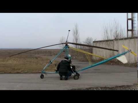 Самодельный вертолет /