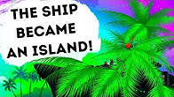 A Ship Pretended to Be an Island for Enemy Escape