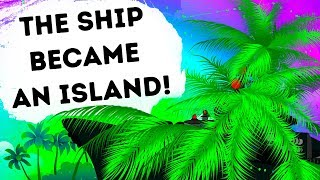 A Ship Pretended to Be an Island for Enemy Escape thumbnail