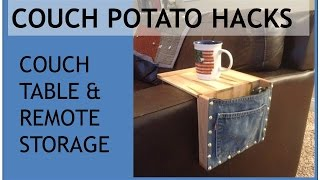 Couch Potato Hacks - Couch Tab…