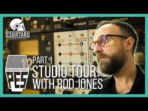 'Post Electric Studio' Tour Part 1 - Control Room
