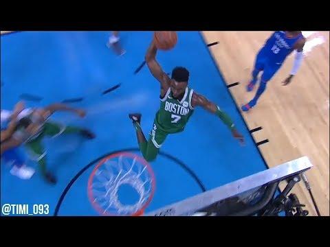 Jaylen Brown Highlights vs Oklahoma City Thunder (10 pts, 12 reb)
