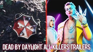 Dead by Daylight - All Killers Trailers (APRIL 2021)