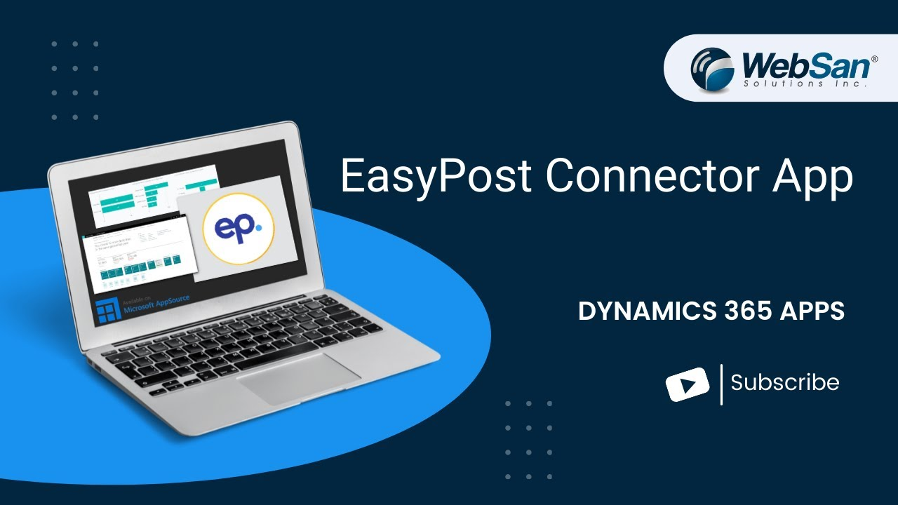 EasyPost Connector for Dynamics 365 | Dynamics 365 Business