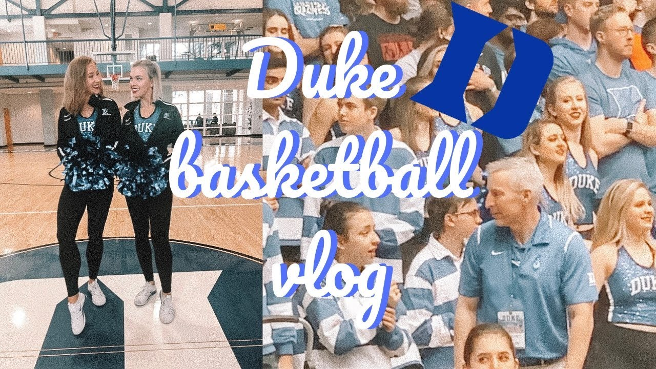 Duke Basketball Game Vlog   Game Day Get Ready with Me!