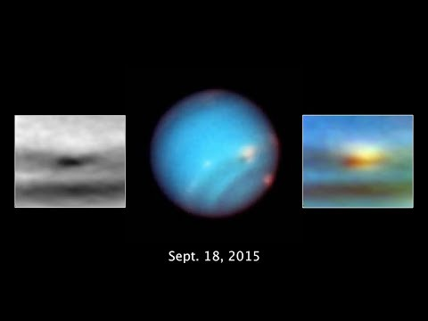 Watch Storm on Neptune Fizzle Out in Hubble Time-Lapse
