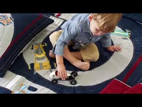 Boys Quilts – Fun Patterns on Handmade Quilts | Pottery Barn Kids