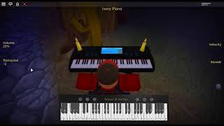 Swan Lake Op. 20 by: Tchaikovsky on a ROBLOX piano.