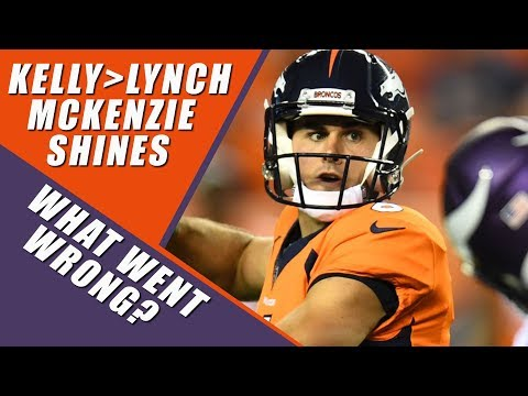 Denver Broncos Vs Minnesota Vikings Preseason Recap