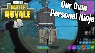 """Like Having our own Personal Ninja"" (Fortnite BRs) w/Swag Dracula & the Drac Pack"