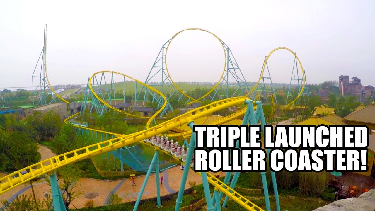 Zero Gravity Theme Park >> Zero Gravity Triple Launch LSM Roller Coaster by Intamin ...