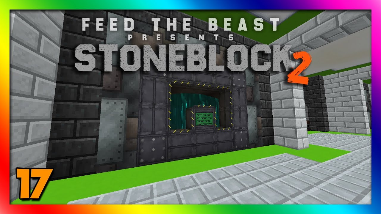 Stoneblock 2 ModPack - Extreme Reactors 1 12 2!! Episode 17 [Modded  Minecraft 1 12 2]