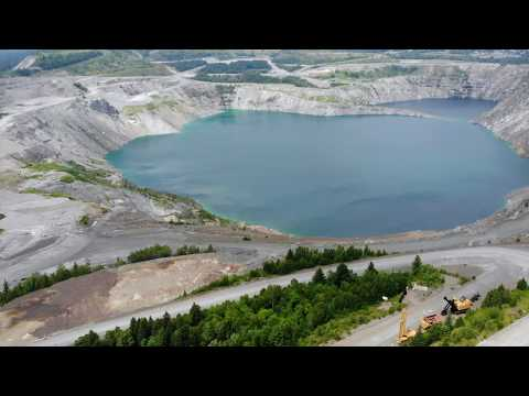 Mine Lake (Lac D'amiante), Thetford Mines