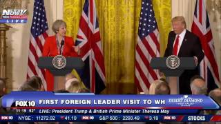 FNN: President Trump & British Prime Minister Theresa May Press Conference