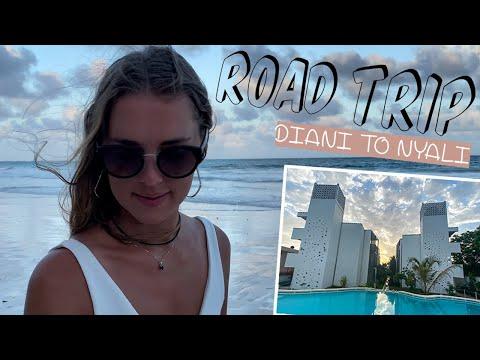 DIANI APARTMENT TOUR & ROAD TRIP FROM DIANI TO NYALI | MOMBASA KENYA | OUR LIFE IN KENYA