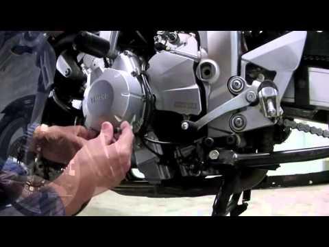 Yamaha Fazer FZ6 S - Защита крышки генератора