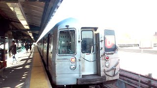 [MTA]: Norwood 205th Street Bound R68 (D) Train Departing @ 62nd Street/New Utrecht Avenue