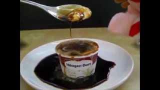 Soy Sauce On Ice Cream And Haagen Dazs Vanilla