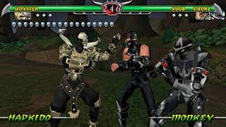 [TAS] Mortal Kombat Unchained - Monster ENDURANCE (PSP)