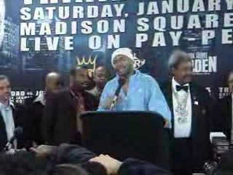 Roy Jones: Jones-Trinidad post fight presser