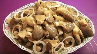 Маринованные грибы быстрого приготовления