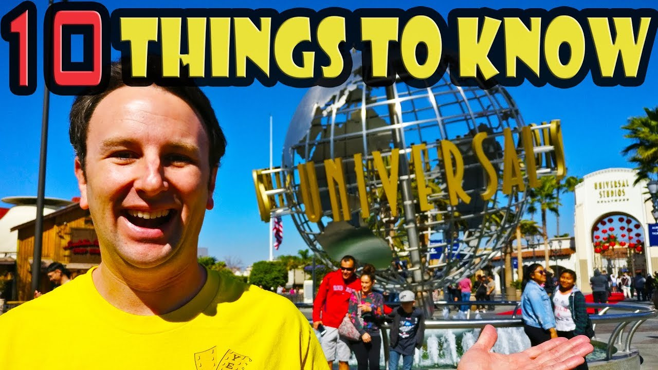 Universal Studios Hollywood Tips 10 Things To Know Before You Go Youtube