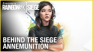 Rainbow Six Siege: AnneMunition – Voice of Siege | Behind the Siege | Ubisoft [NA]