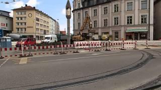 Pasinger Marienplatz Baustelle 12.06.2013 Part.VIII
