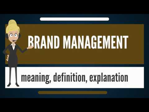 What is BRAND MANAGEMENT? What does BRAND MANAGEMENT mean? B
