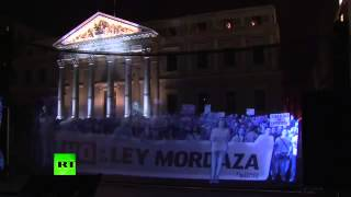 Holograms for Freedom  Thousands join virtual demo against new protest law in Spain