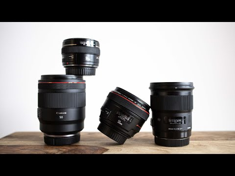 ULTIMATE 50mm Shootout! - Canon RF 50 F1.2L vs Canon EF 50 1.2L vs Sigma 50 1.4 ART vs Canon 50 1.4