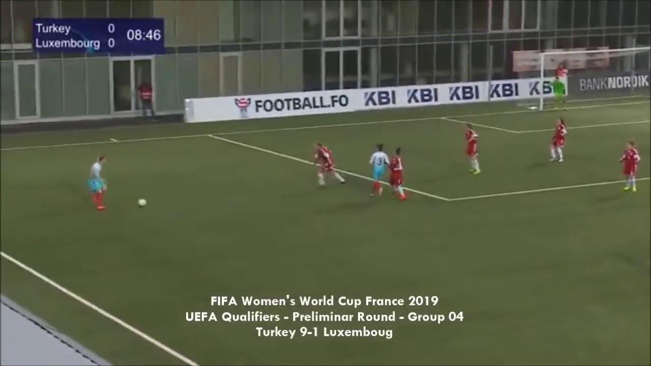 Aycan Yanaç Muhteşem Goller Türkiye 9-1 Lüksemburg