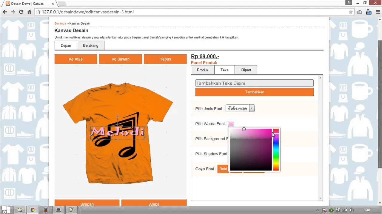 T Shirt Customizer Software Rldm