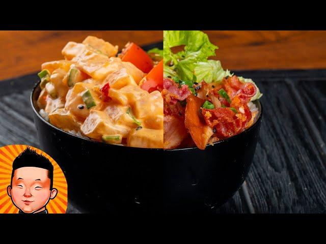 Два весенних боула-поке. Рецепт суши | Poke bowl