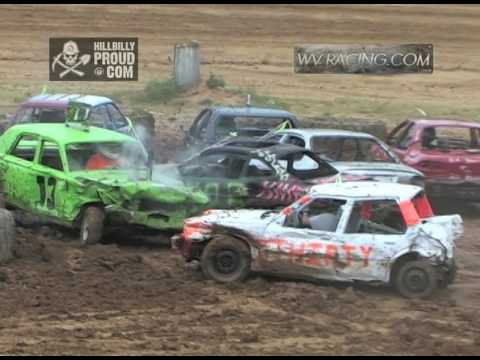 Kings of Karnage Figure 8 Race Compact Cars Tyler County Speedway July 2, 2016