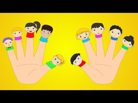 Ten Little Fingers  Finger Family Songs