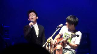 20110821 Why Try To Change Me Now盧廣仲+林宥嘉 盧廣仲慢靈魂音樂會in legacy