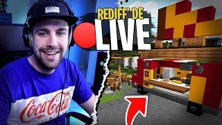 Construction de mon Camion à Pizza sur Minecraft ! J'ai des Croûtons à nourrir...