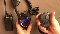 Kenwood SMC-34 Lautsprechermikrofon vs. Baofeng Mikrofon