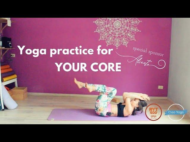 Pratica yoga per tonificare gli addominali!
