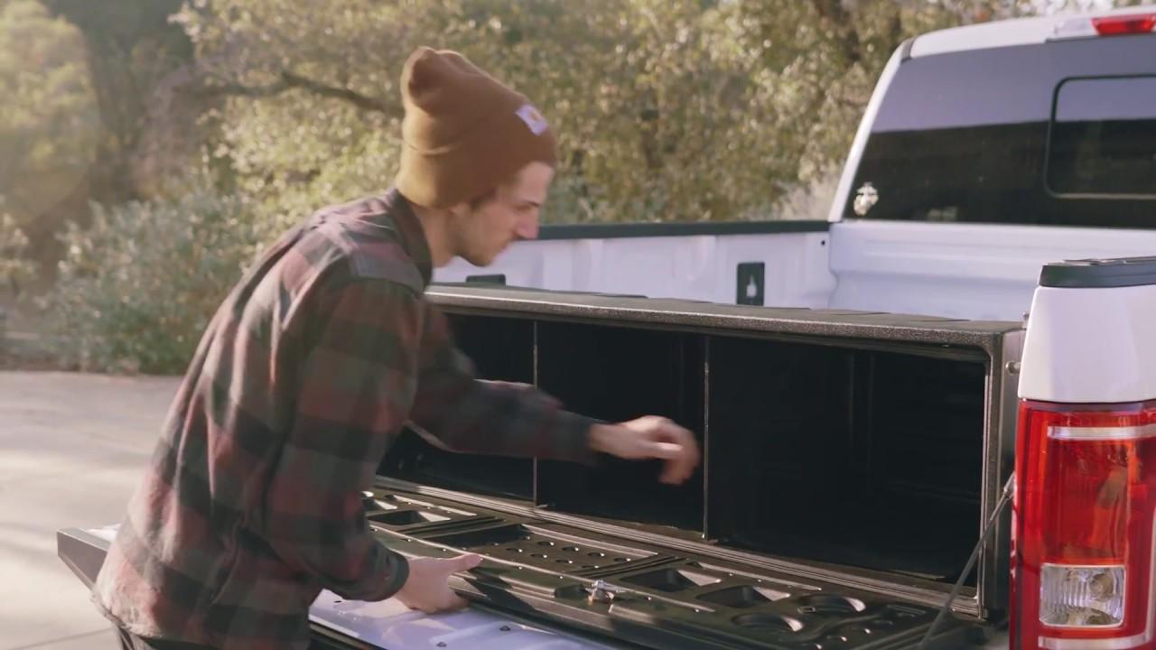 Aerobox Rear Mounted Removable Truck Cargo Box Youtube