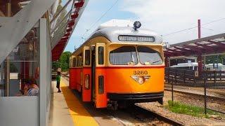 🚊/💺 MBTA (Boston): Ashmont-Mattapan High-Speed Line (Trolley) to Mattapan... FULL RIDE!