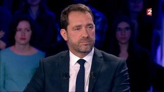 Christophe Castaner - On n'est pas couché 18 mars 2017 #ONPC